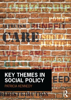 Key Themes in Social Policy (Paperback) book cover