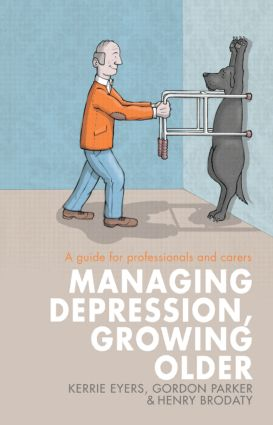 Managing Depression, Growing Older: A guide for professionals and carers (Paperback) book cover