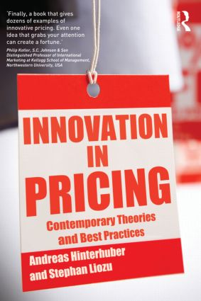 Innovation in Pricing: Contemporary Theories and Best Practices (Paperback) book cover