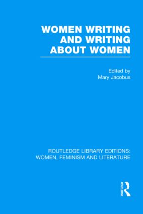 Women Writing and Writing about Women (Hardback) book cover