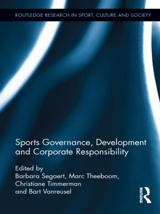 Sports Governance, Development and Corporate Responsibility: 1st Edition (Hardback) book cover