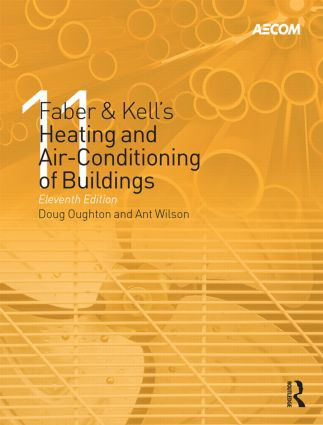Faber & Kell's Heating and Air-Conditioning of Buildings: 11th Edition (Hardback) book cover