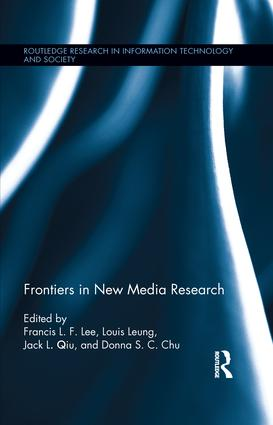 Frontiers in New Media Research (Hardback) book cover