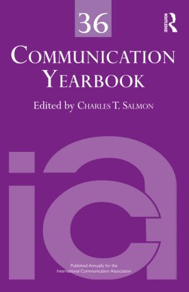 Communication Yearbook 36 (Hardback) book cover