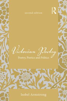 Victorian Poetry: Poetry, Poetics and Politics book cover