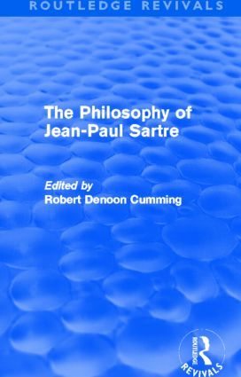 The Philosophy of Jean-Paul Sartre (Routledge Revivals) (Hardback) book cover