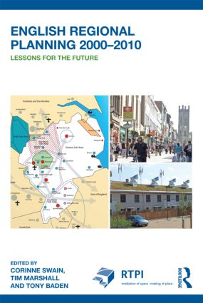 English Regional Planning 2000-2010: Lessons for the Future (Paperback) book cover