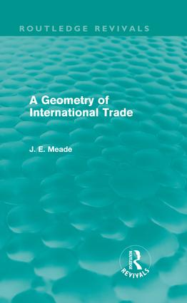 A Geometry of International Trade (Routledge Revivals) (Hardback) book cover