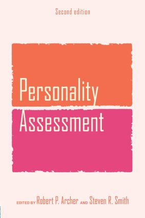 Personality Assessment: 2nd Edition (Paperback) book cover