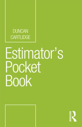 Estimator's Pocket Book (Paperback) book cover