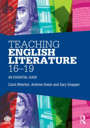 Teaching English Literature 16–19: An essential guide (Paperback) book cover
