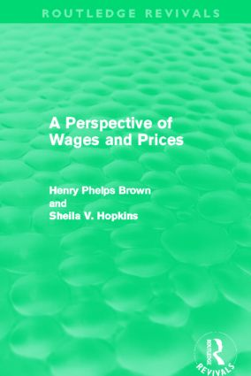 A Perspective of Wages and Prices (Routledge Revivals) (Paperback) book cover