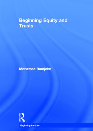 Beginning Equity and Trusts book cover