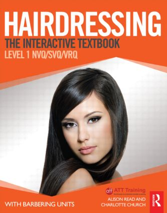 Hairdressing: Level 1: The Interactive Textbook (Paperback) book cover