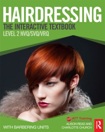 Hairdressing: Level 2: The Interactive Textbook (Paperback) book cover