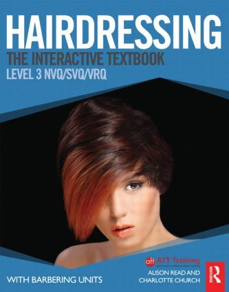 Hairdressing: Level 3: The Interactive Textbook (Paperback) book cover