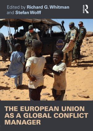 The European Union as a Global Conflict Manager (Paperback) book cover