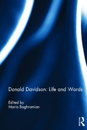 Donald Davidson: Life and Words (Hardback) book cover