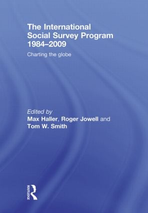 The International Social Survey Programme 1984-2009: Charting the Globe (Paperback) book cover