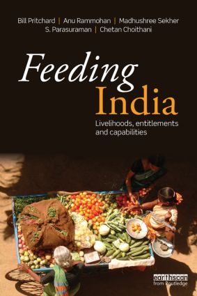 Feeding India: Livelihoods, Entitlements and Capabilities (Paperback) book cover