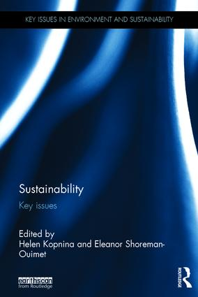 Sustainability: Key Issues book cover
