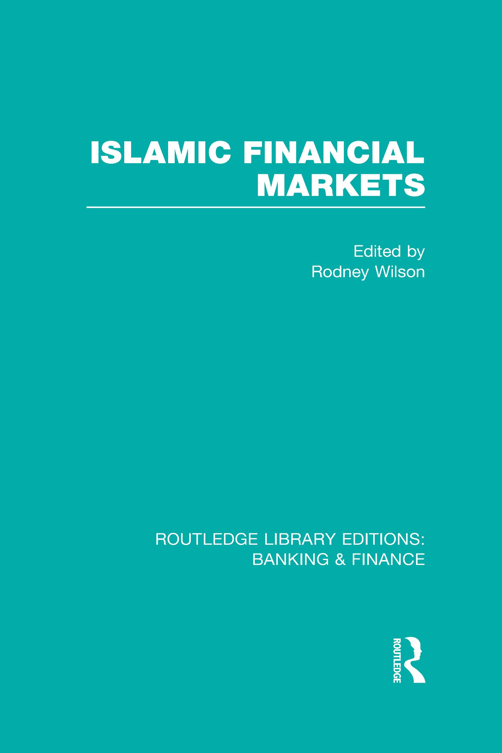 Islamic Financial Markets (RLE Banking & Finance) (Hardback) book cover