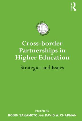 Cross-border Partnerships in Higher Education: Strategies and Issues (Paperback) book cover
