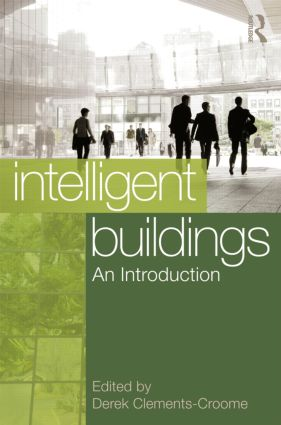 Intelligent Buildings: An Introduction (Hardback) book cover