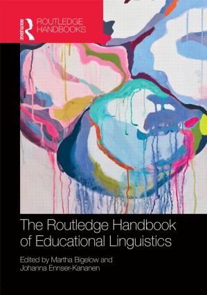 The Routledge Handbook of Educational Linguistics book cover