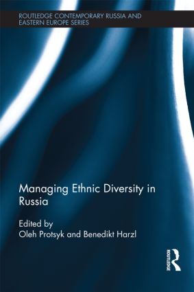 Managing Ethnic Diversity in Russia (Hardback) book cover