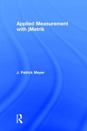 Applied Measurement with jMetrik: 1st Edition (Hardback) book cover