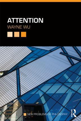 Attention book cover