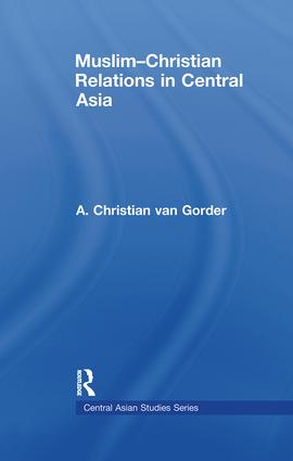 Muslim-Christian Relations in Central Asia (Paperback) book cover