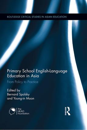 Primary School English-Language Education in Asia: From Policy to Practice (Hardback) book cover