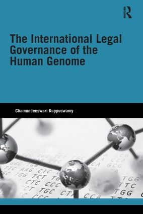 The International Legal Governance of the Human Genome book cover