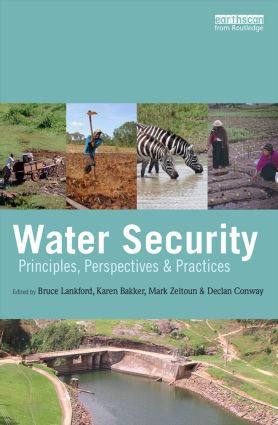 Water Security: Principles, Perspectives and Practices (Paperback) book cover