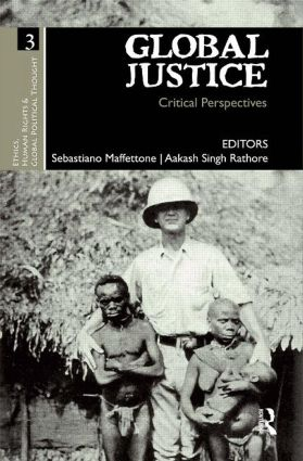 Global Justice: Critical Perspectives (Hardback) book cover