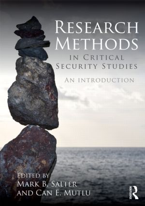 Research Methods in Critical Security Studies: An Introduction (Paperback) book cover