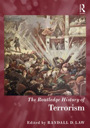The Routledge History of Terrorism book cover
