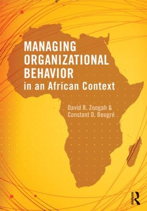Managing Organizational Behavior in the African Context: 1st Edition (Paperback) book cover