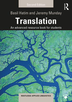 Translation: An advanced resource book for students book cover