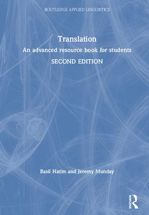 Translation: An advanced resource book for students