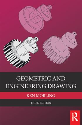 Geometric and Engineering Drawing: 3rd Edition (Paperback) book cover