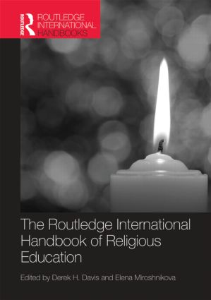 The Routledge International Handbook of Religious Education (Hardback) book cover