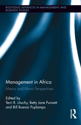 Management in Africa: Macro and Micro Perspectives (Hardback) book cover