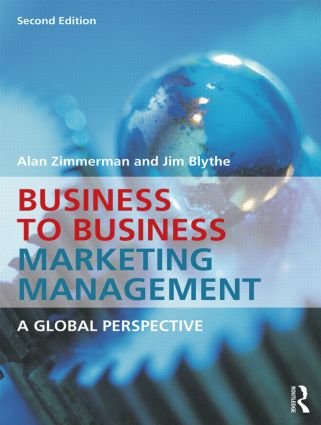 Business to Business Marketing Management: A Global Perspective, 2nd Edition (Paperback) book cover