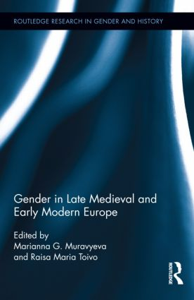Gender in Late Medieval and Early Modern Europe (Hardback) book cover