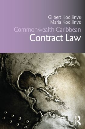 Commonwealth Caribbean Contract Law (Paperback) book cover