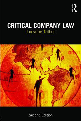 Critical Company Law book cover
