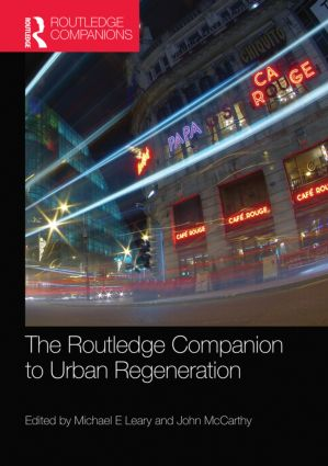 The Routledge Companion to Urban Regeneration book cover